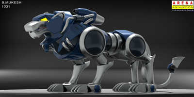 Arena Animation students_3d _works